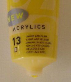 Tinta Acrílica Pébéo Amarelo Azo Claro#13-100ml