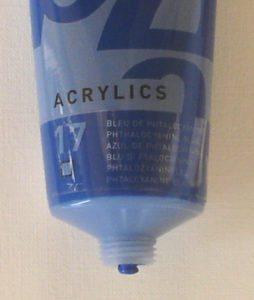 Tinta Acrílica Pébéo Azul Phtalocyanina #17-100ml