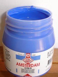 Tinta Amsterdam Acrylic Cobalt Blue #512 – 500ml