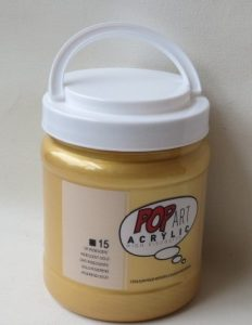 Tinta Acrílica Pébéo Pop Art Gold #15 – 700ml