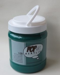 Tinta Acrílica Pébéo Pop Art Phtalo Green #09 – 700ml