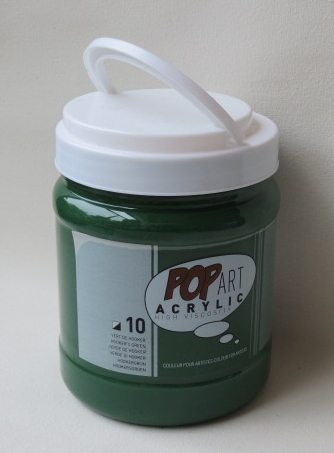 Tinta Acrílica Pébéo Pop Art Hooker Green #10 – 700ml