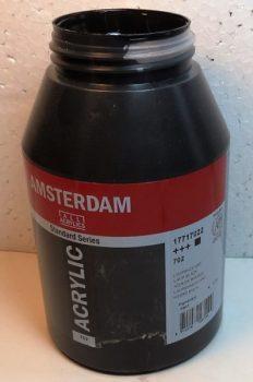 Tinta Amsterdam Acrylic Lamp Black #702 – 1000ml
