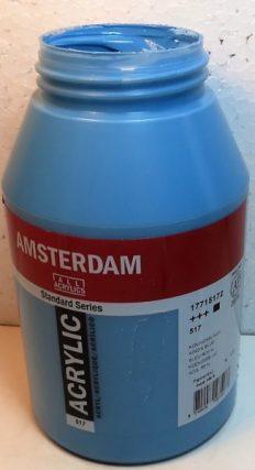 Tinta Amsterdam Acrylic Kings Blue #517- 1000ml