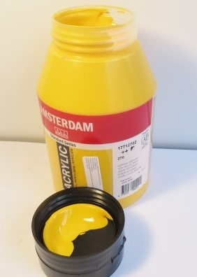 Tinta Amsterdam Acrylic Azo Yellow Deep #270 – 1000ml