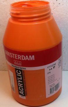 Tinta Amsterdam Acrylic Azo Orange #276 – 1000ml
