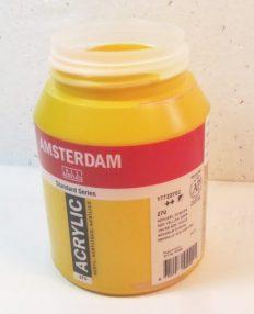 Tinta Amsterdam Acrylic Azo Yellow Deep #270 – 500ml