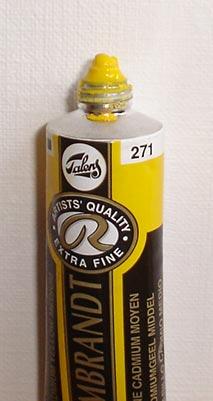 Tinta Óleo Rembrandt Cadmium Yellow Medium #271 – 15ml S4