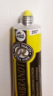 Tinta Óleo Rembrandt Cadmium Yellow Lemon #207- 15ml S4