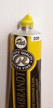 Tinta Óleo Rembrandt Cadmium Yellow Light #208  – 15ml S4