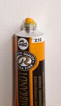 Tinta Óleo Rembrandt Cadmium Yellow Deep #210  – 15ml S4