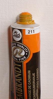 Tinta Óleo Rembrandt Cadmium Orange  #211- 15ml S4