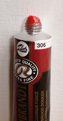 Tinta Óleo Rembrandt Cadmium Red Deep #306 – 15ml S4
