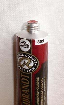 Tinta Óleo Rembrandt Cadmium Red Purple #309 – 15ml S4