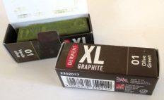 Barra de Grafite XL Derwent Olive Green #01