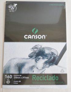 Bloco Desenho Canson Reciclado A4  20fls