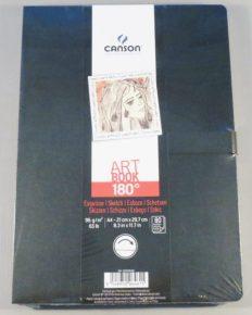 Bloco Desenho Canson Artbook 180 A4 96gr – 80fls