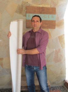 Rolo de Tecido Preparado em Linho Importado 1,70x10m #SFC2172