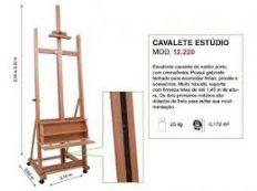 Cavalete Profissional Estúdio Luxo (Lyptus) – Trident #12220