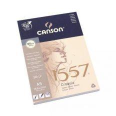 Bloco Desenho Canson 1557 Esboço A5 120gr – 50 fls