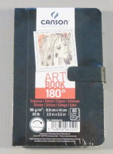 Bloco Desenho Canson Artbook 180 A6 96gr – 80fls