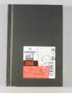 Bloco Desenho Canson One Sketch Estilo A6 100gr – 100fls