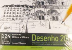 Bloco Desenho Canson Universitário Dessin A2 200gr – 20fls