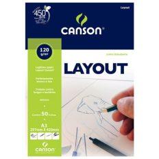 Bloco Desenho Canson Estudante Layout A3 120gr 50fl
