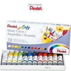 Conjunto de Aquarela Pentel c/12 tubos