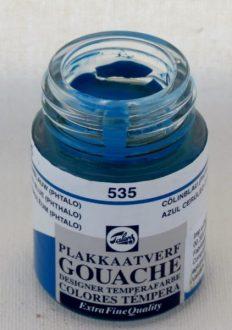 Tinta Guache Talens Cerulean Blue #535 – 16ml