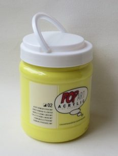 Tinta Acrílica Pébéo Pop Art Cadmium Yellow Lemon #02 -700ml