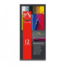 Neopastel Caran Dache 12 cores